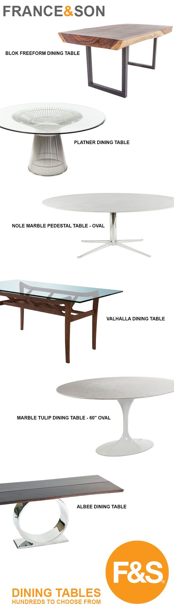 France & Son Dining Tables - hundreds to choose from! | breakfast ...
