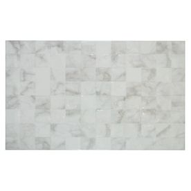 MULIA TILE Carrara White Grey Glossy Ceramic Wall Tile (Common: 10 ...