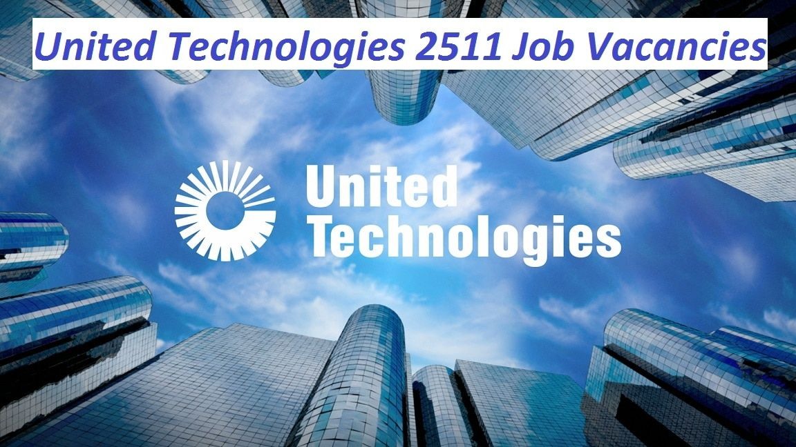 Apply To 2511 United Technologies Careers In The Usa Canada Puerto Rico On Abroad Jobs International United Technologies The Unit Technology Careers Merger