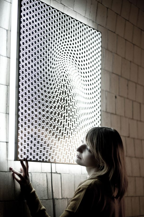 Let yourself get mesmerized by light with the Hypnotic lamp by AP ...