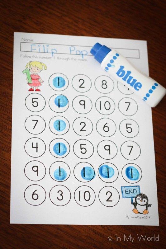 Preschool Letter I | Mathe, Zeichen und Buchstaben