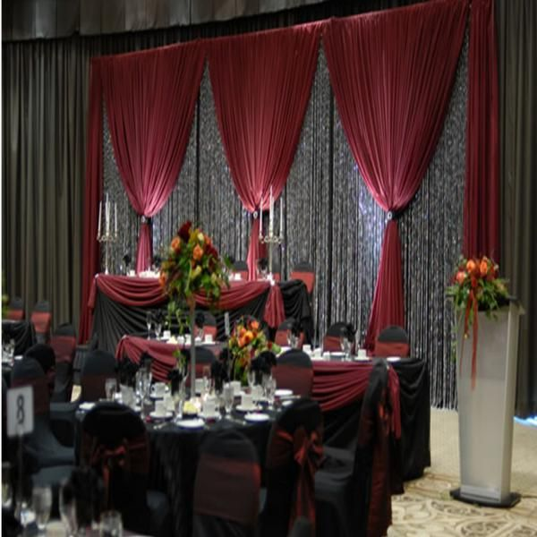 Wedding Chapel Decoration Ideas: DELUXE 3 Panel Standard Backdrop