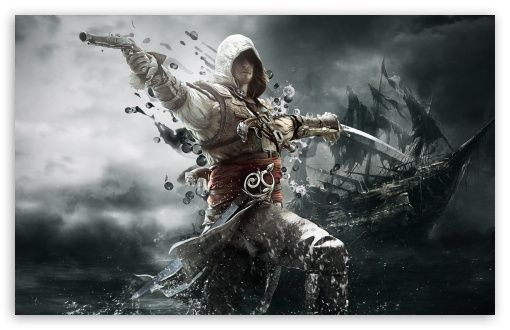 Assassins Creed Iv Black Flag Edward Kenway Hd Wallpaper 1440 X