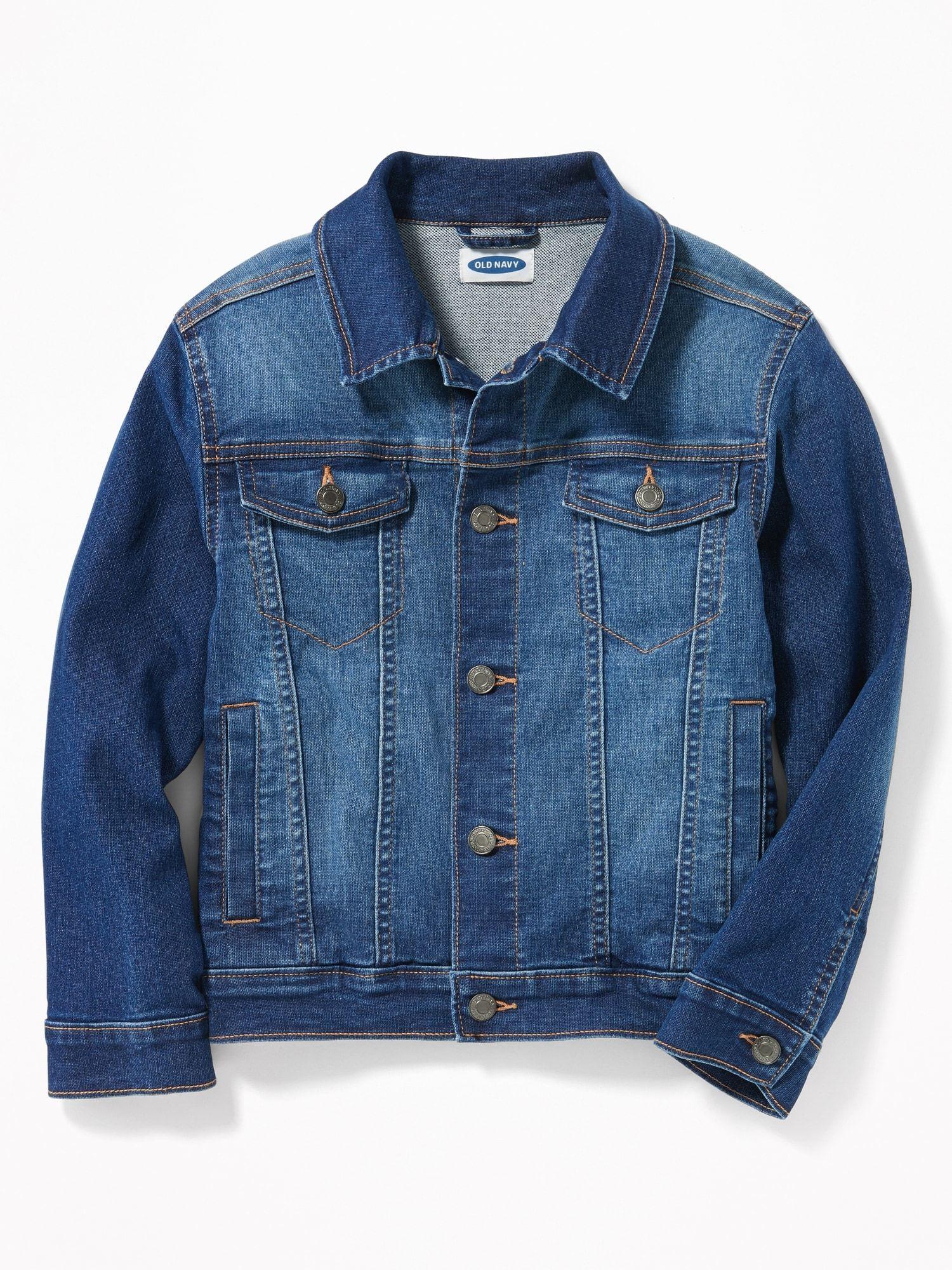 Old Navy Boys Jean Jacket Medium Wash Regular Size S In 2021 Kids Jeans Jacket Boys Jean Jacket Boy Outerwear [ 2000 x 1500 Pixel ]