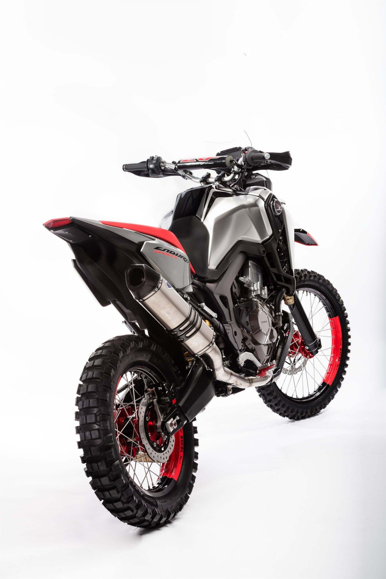 Oh My The Honda Africa Twin Enduro Sports Concept In 2020 With Images Honda Africa Twin
