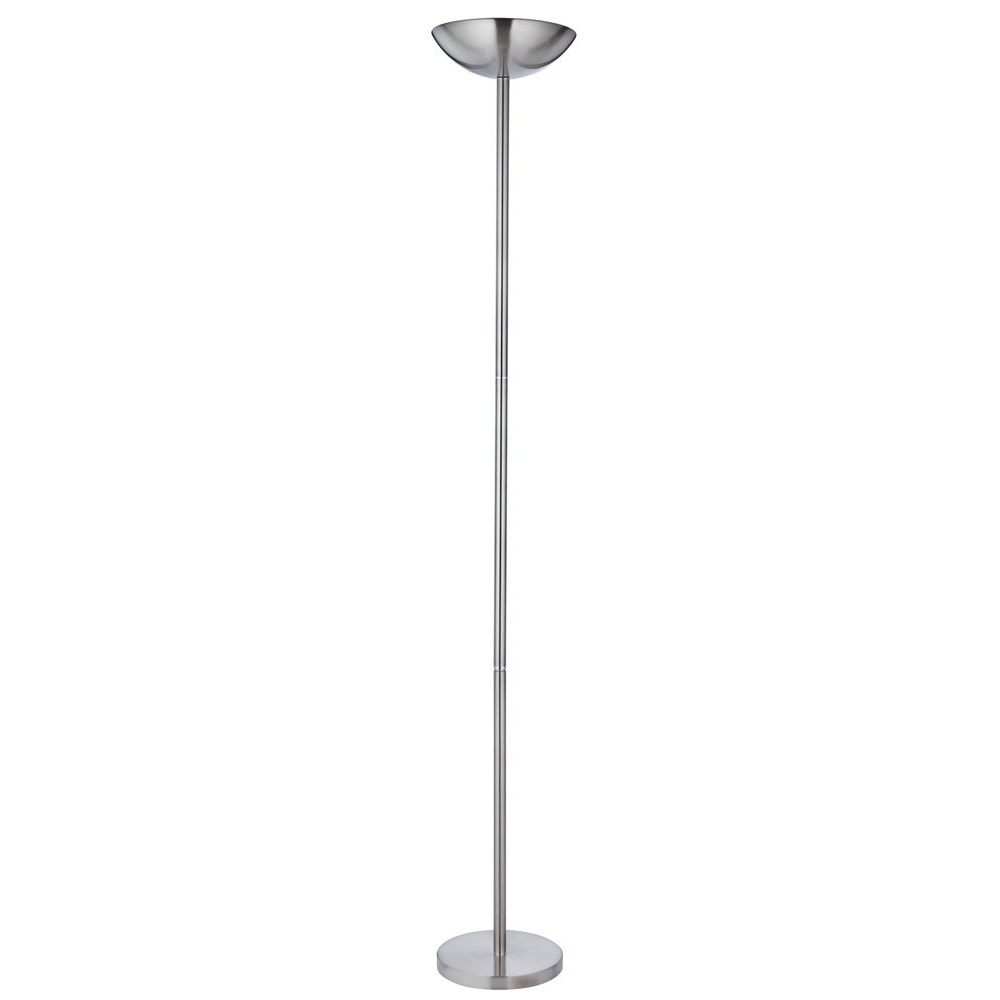 Httpshaysomsfloor lampspowerful and dimmable low energy powerful and dimmable low energy satin chrome floor lamp uplighter mozeypictures Gallery