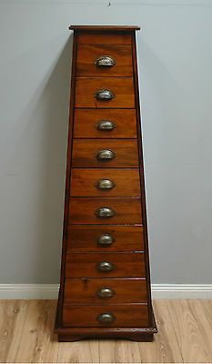 Fantastic Unusual Pyramid Shaped Chest Of Drawers Tallboy