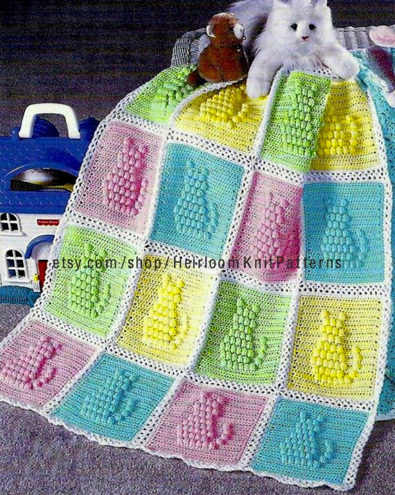 Instant download Crochet Pattern - 841 *************** Crochet ...