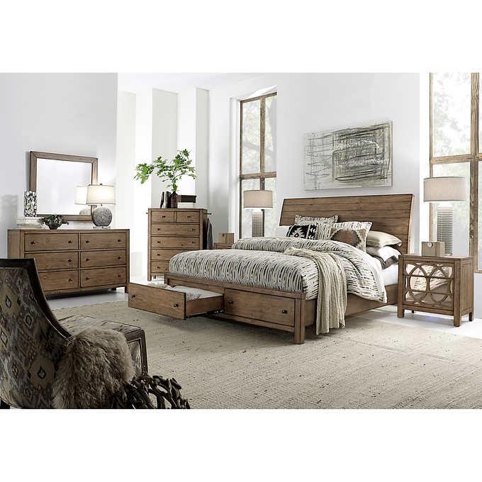 Audrey 6piece Queen Storage Bedroom Set in 2020