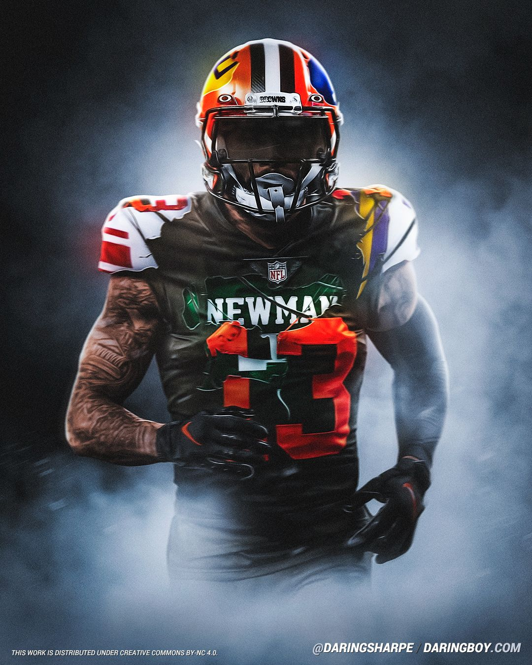 Odell Beckham Jr Isidore Newman Greenies Lsu Tigers New York Giants Cleveland Browns In 2020 Beckham Jr Nfl Football Wallpaper Odell Beckham Jr Wallpapers