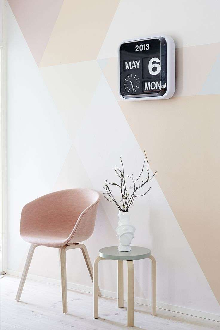 Top Idee abbinamento colori pareti - Cipria, rosa e bianco | Colori  OB73