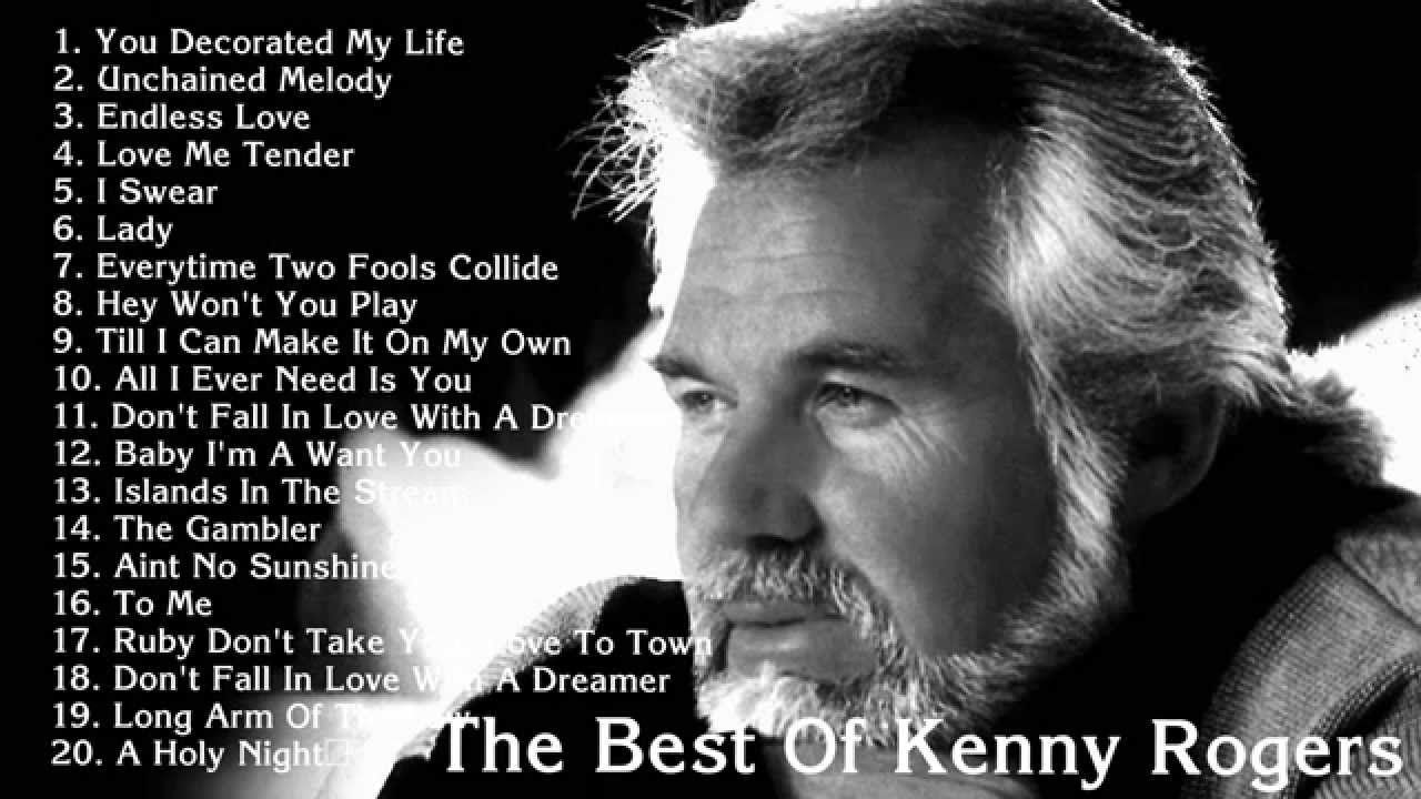 Kenny Rogers 20 Greatest Hits Of Kenny Rogers Old Country Music Country Music Singers Music Albums