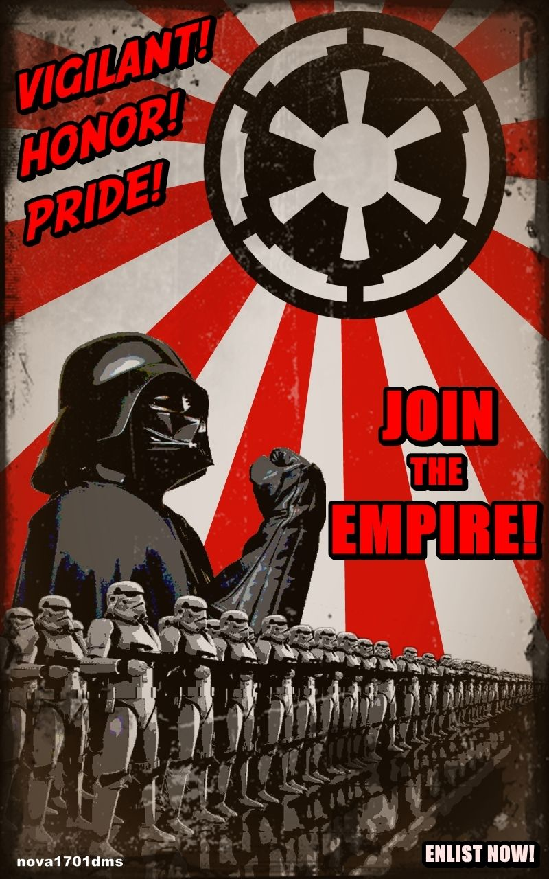 Star Wars Recruitment Poster 3 By Nova1701dms On Deviantart Sci