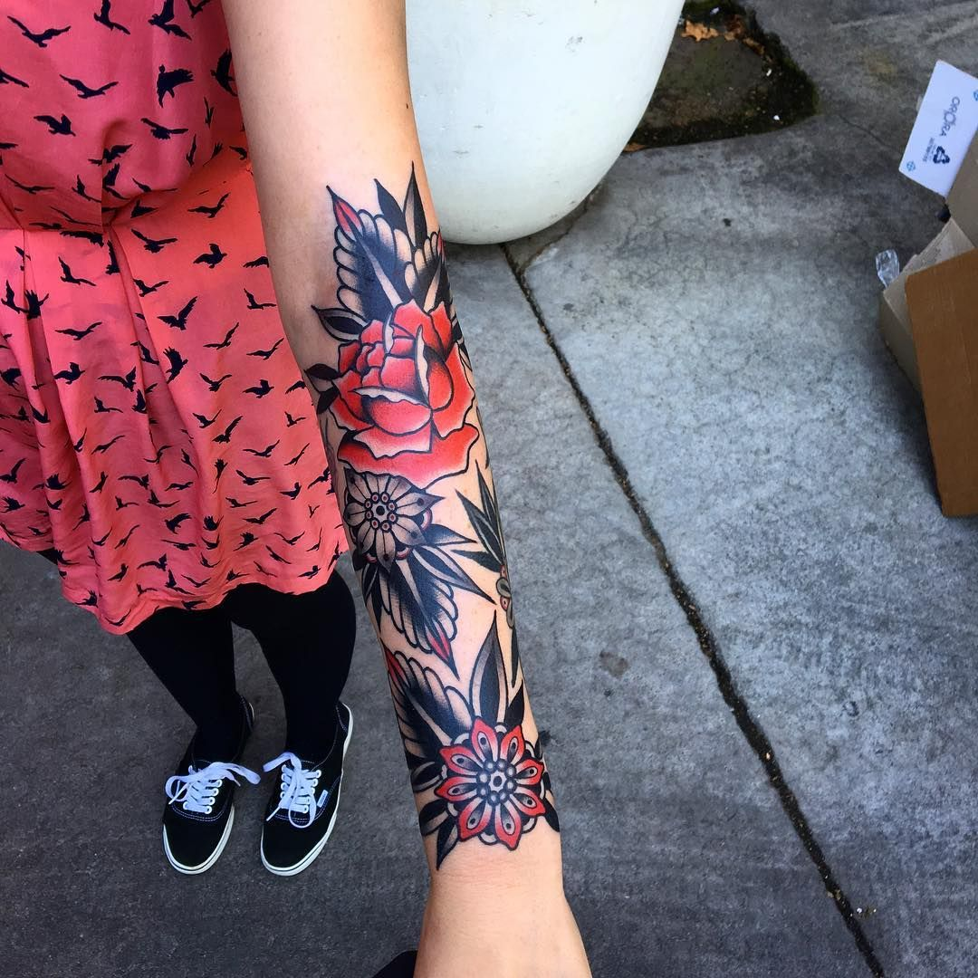 3a8d18602c365 Some small ones at @goodlucktattoo Melbourne   Tattoos   Sleeve ...