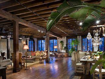 Gerard Butler's New York Loft project from Elvis Restaino   Porch