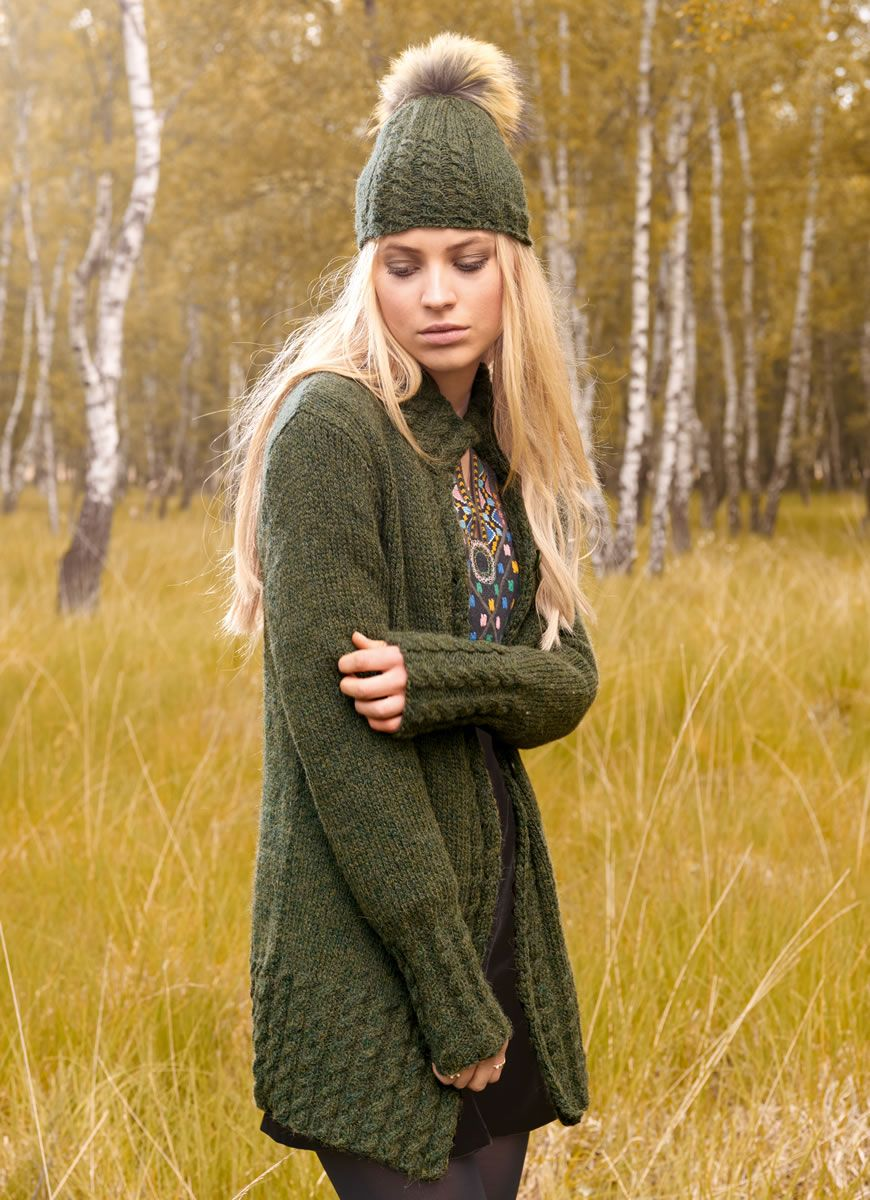 Knitting from grass. Features and models 84