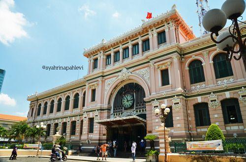 Buu Dien Saigon Central Post Office Hcmc Vietnam Historical Sites Saigon Post Office