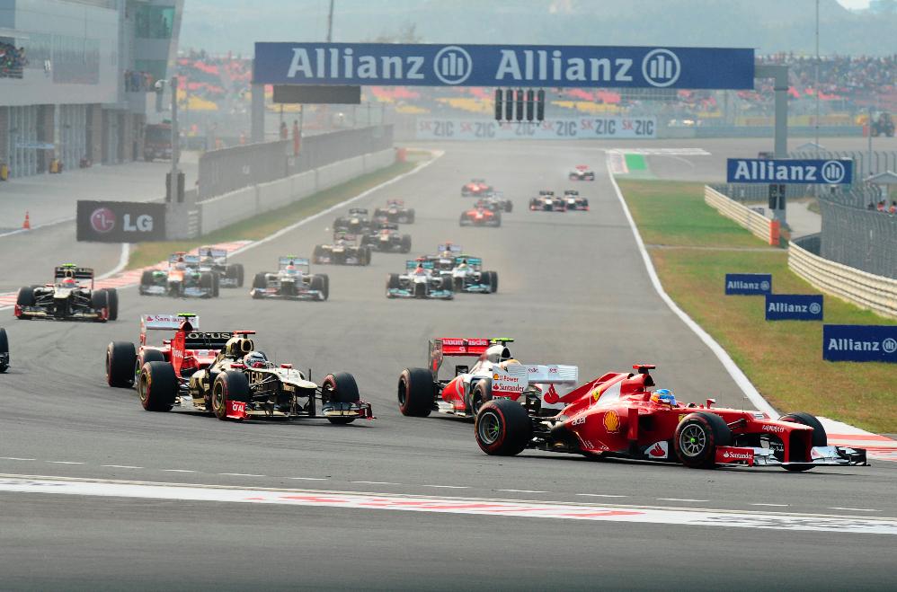 Tercer puesto para Alonso en El G.P. de Corea, por lo que cede el liderato del Mundial a Vettel.
