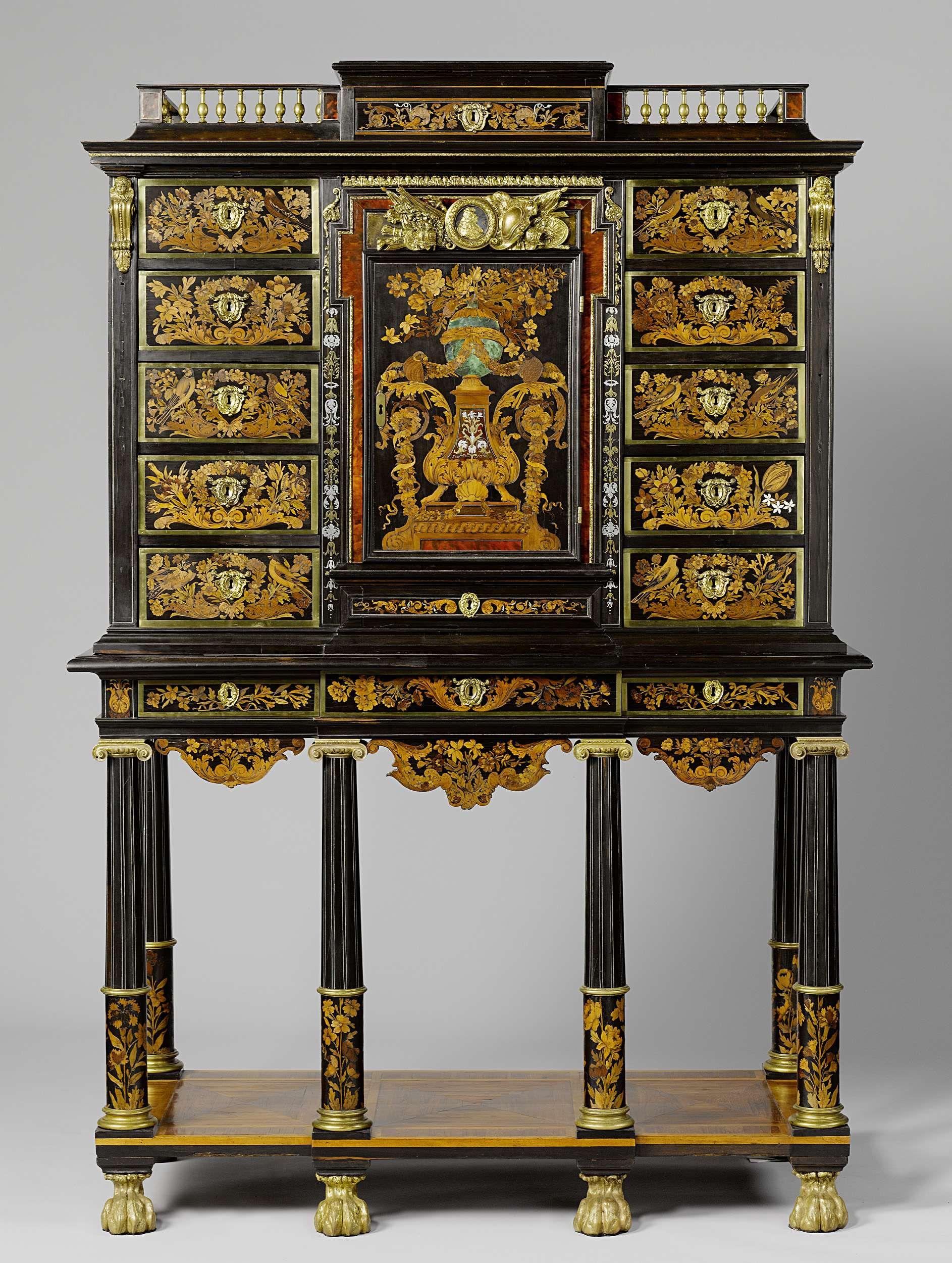Het Kabinet Meubels Amsterdam.Kabinet Toegeschreven Aan Andre Charles Boulle Ca 1670