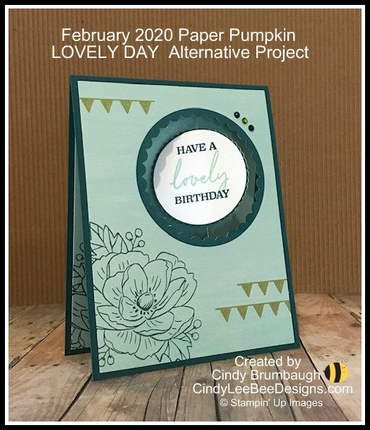 February 2020 Lovely Day Paper Pumpkin Alternative Project