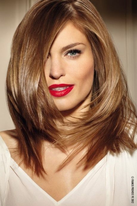 Medium Length Haircuts For Thick Hair Hair Hair Styles Hair