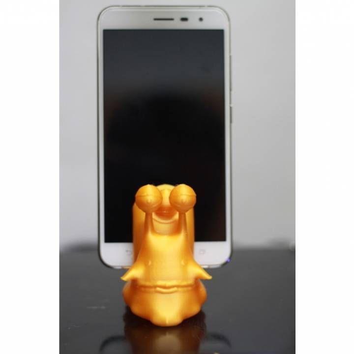 3D Printable one piece 魯夫的電話蟲 by orangeteacher - update by 橘子腦師