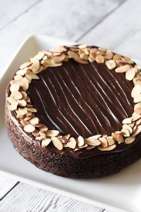 Gluten Free Vegan One Bowl Chocolate Cake Recept Bakning