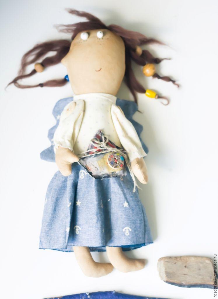 Шьем ароматизированную куклу «Лето, прощай!»