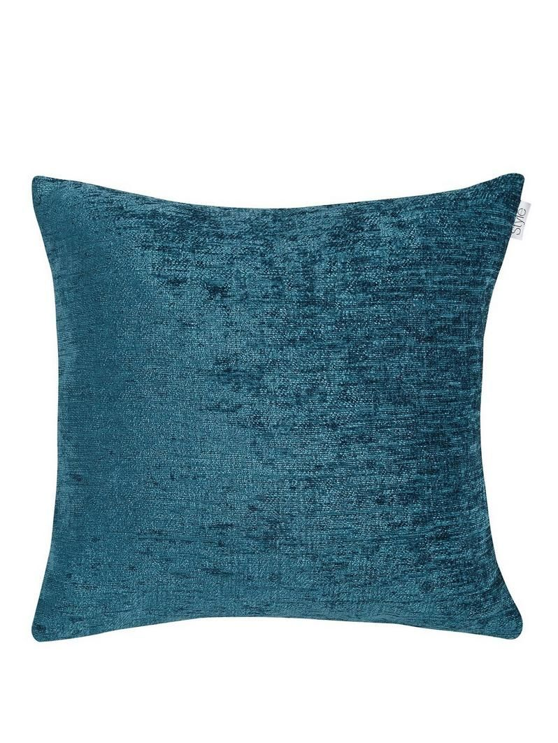 Maurice chenille cushion in colours u x cmsoft comfy and