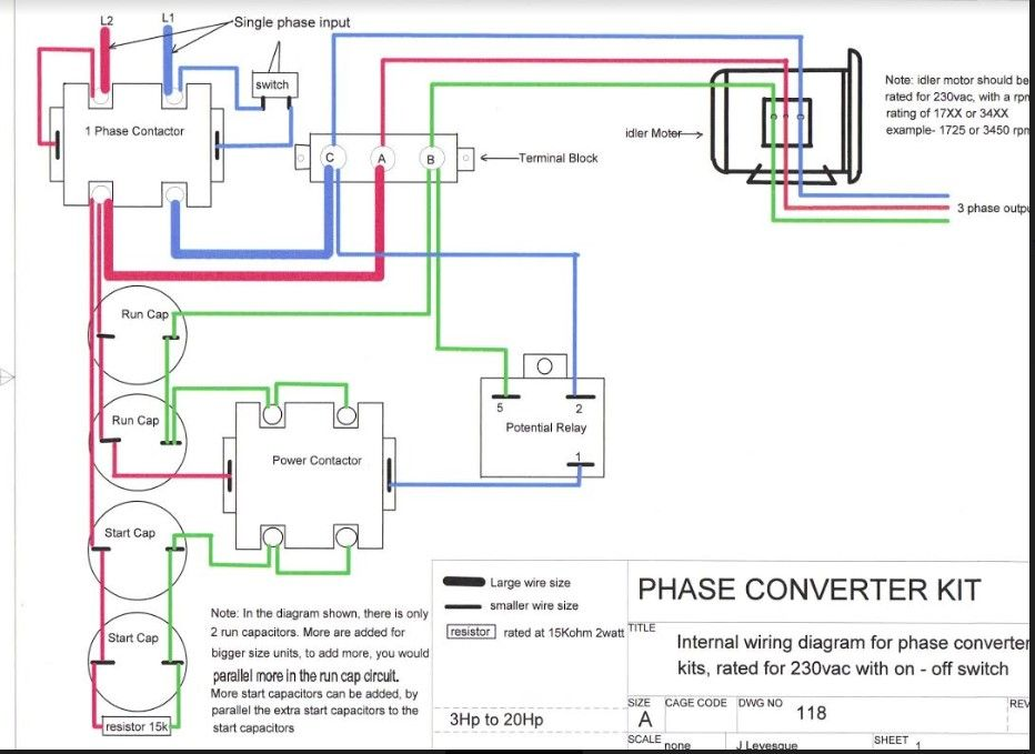 Phase Converter Schematic In 2020 Diagram Converter Wire