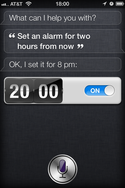 Siri Set An Alarm That In Two Hours I Will Call T Back Schedule My Phone Call To So And So Later Siri I Things To Ask Siri Funny Jokes For