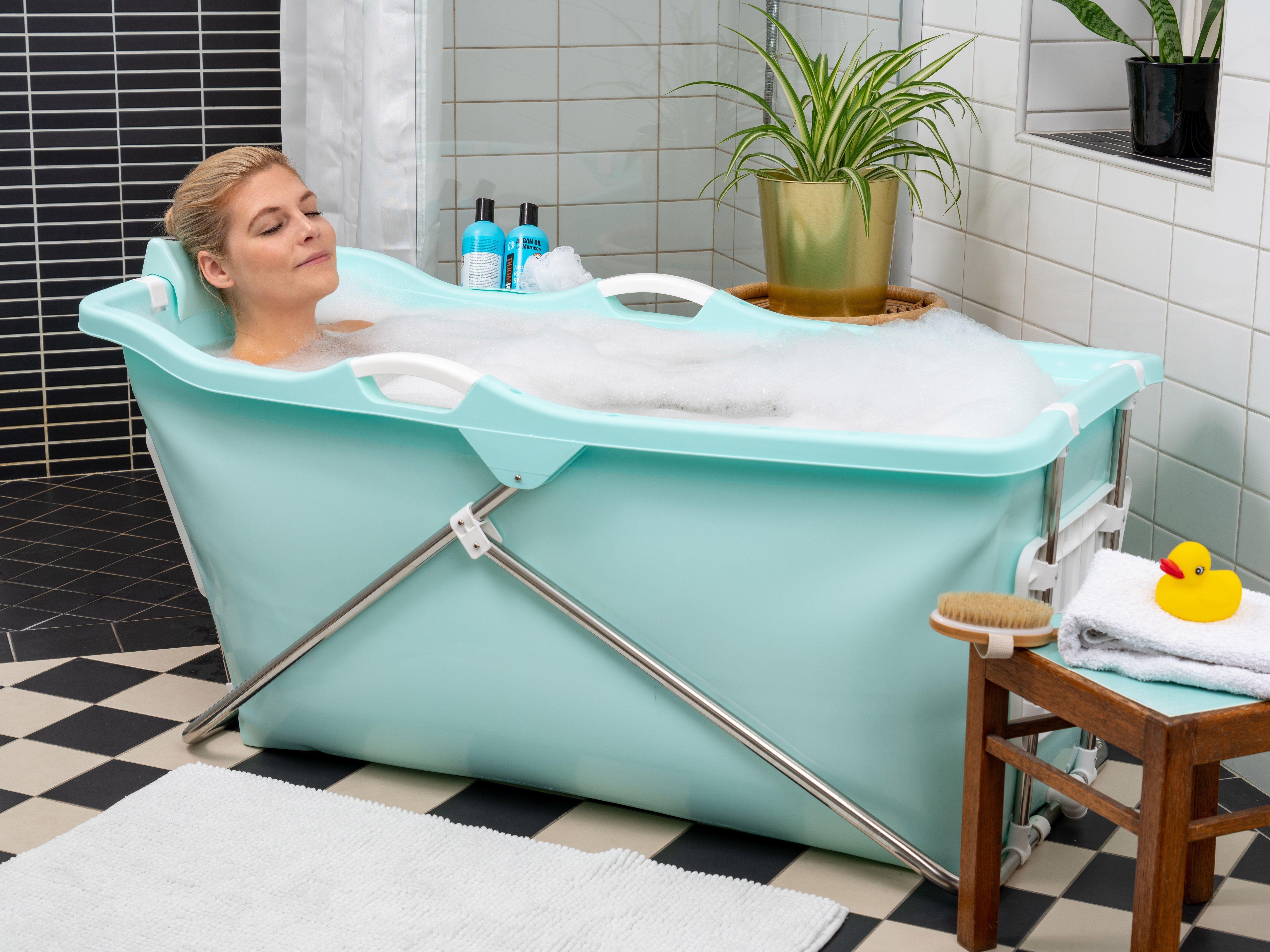 Foldable Bathtub Space Saving Bathtub For Adults Portable