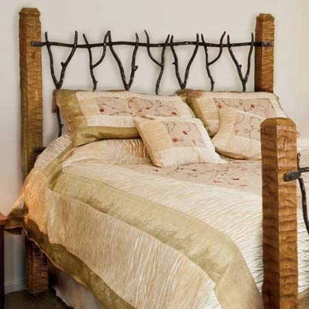 Metal Headboards Queen Pictured Here Is The South Fork Wrought Iron Headboard Hand
