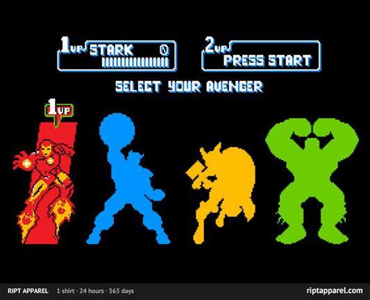 The Avengers Select Avengers Shirt