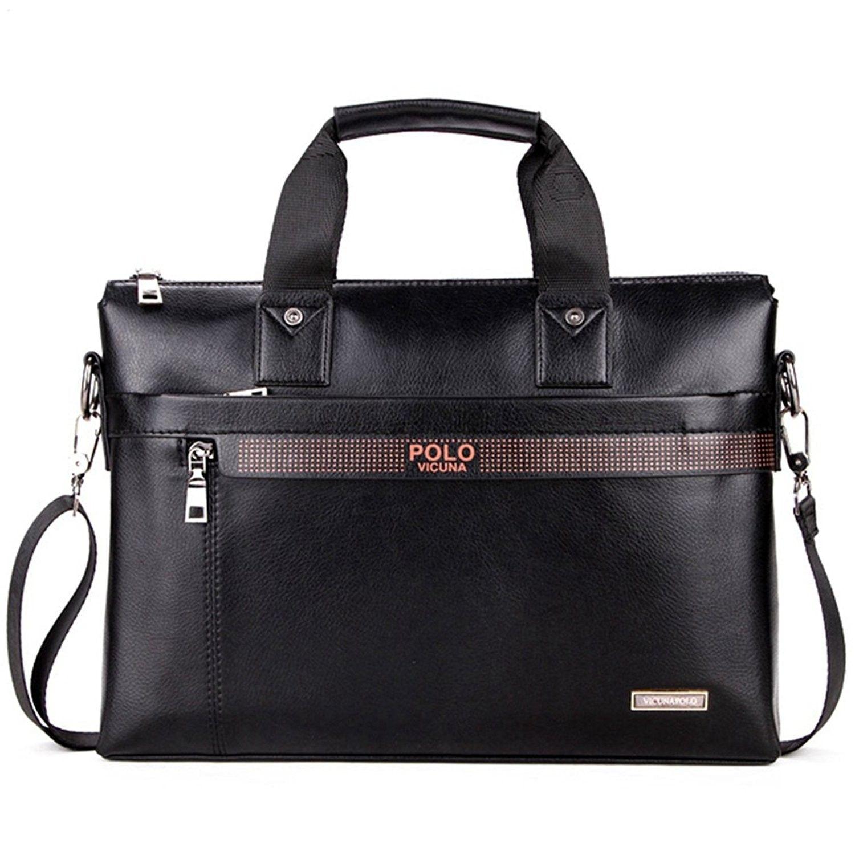 864ff5ef8a16 Men Briefcase Bag Business Bag Leather Laptop Bag Man Bag Handbag ...