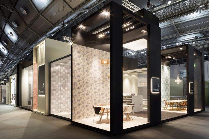 Grandeco exhibition stand by Franken, Frankfurt – Germany » Retail Design Blog