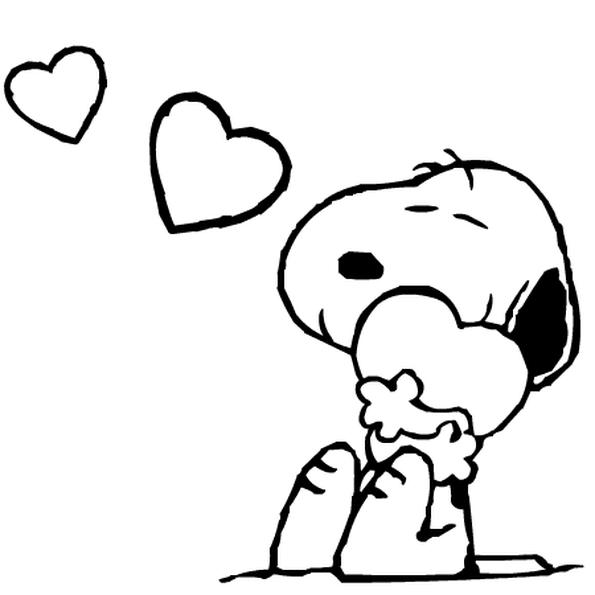 Coloriage Snoopy En Ligne Gratuit à Imprimer En 2019
