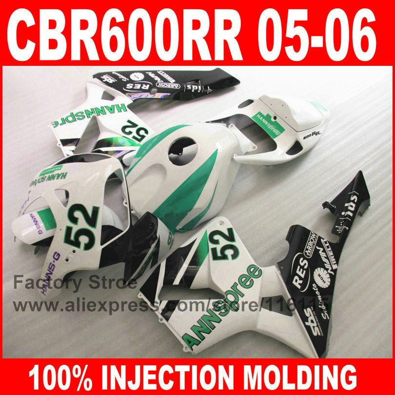 Custom Paint 100 Injection Motorcycle Parts For Honda F Cbr 600rr 05 06