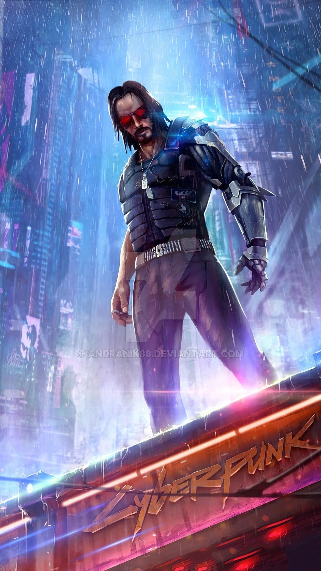 Cyberpunk 2077 Keanu Mobile Wallpaper Iphone Android Samsung Pixel Xiaomi 2020