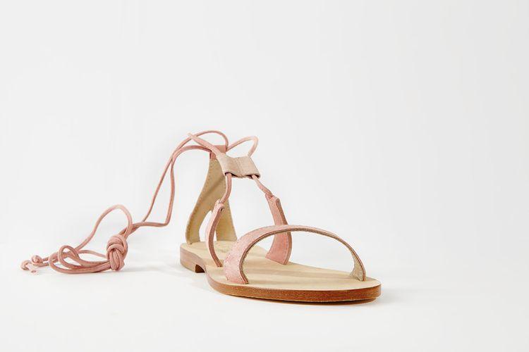 CoRNETTI LANNIO Sandal in blush