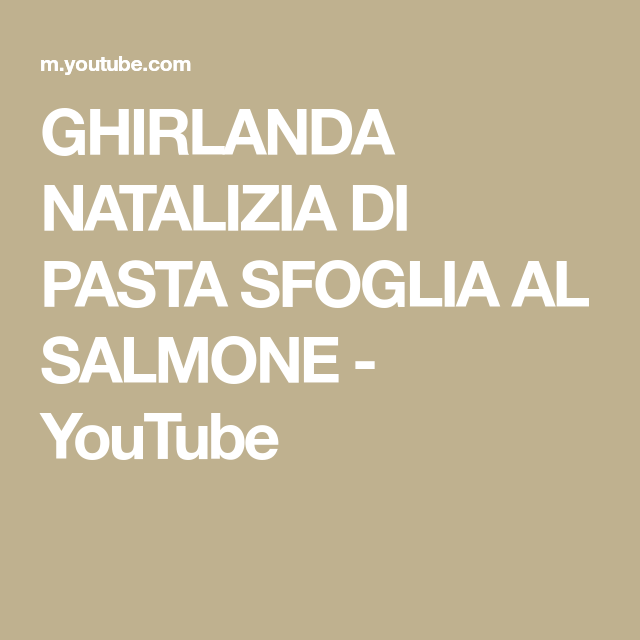 Photo of GHIRLANDA NATALIZIA DI PASTA SFOGLIA AL SALMONE