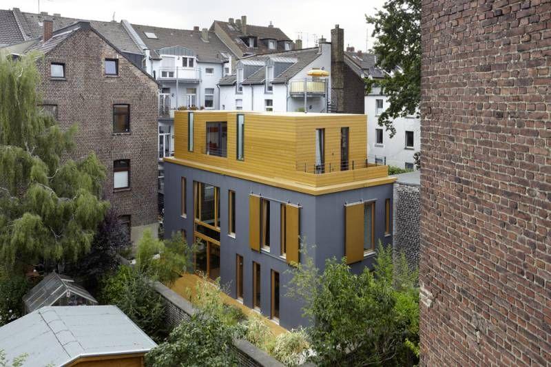 Hinterhofhaus Tannenstraße in Düsseldorf, Architektur