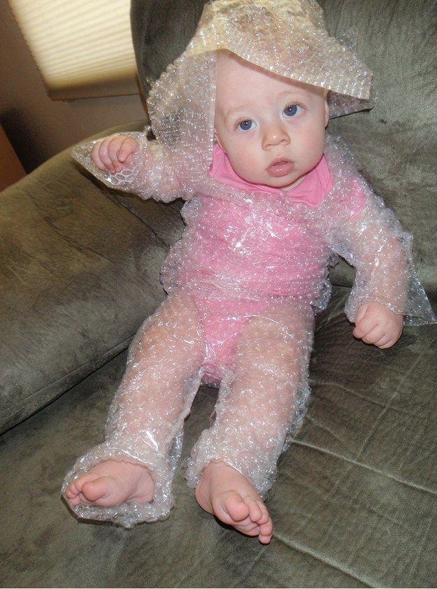Baby Fashion Pop That Bubble Wrap Suit Baby Yeah Baby