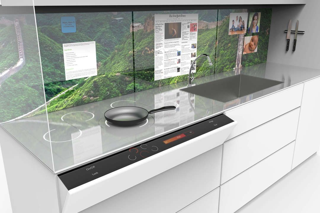 "Kitchen Backsplash Las Vegas what's cooking? the kitchen of the future debuts in las vegas: ""a"