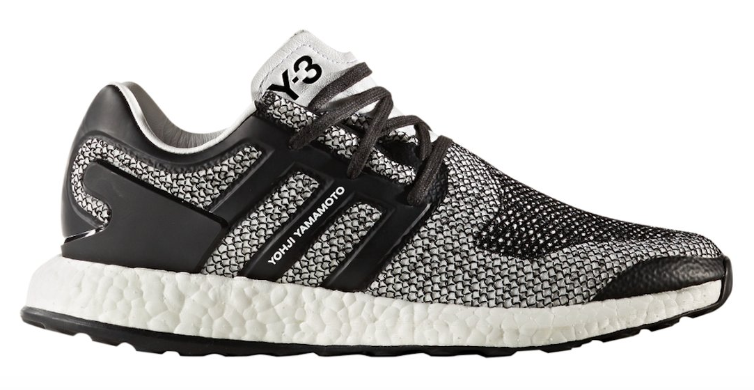 bbe1b0338e024 The adidas Y-3 Pure Boost ZG Knit Shades Of White is introduced and ...