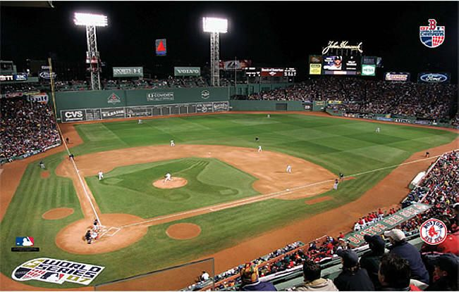 Fenway Park Wallpaper Nolan S Room Red Sox World Series