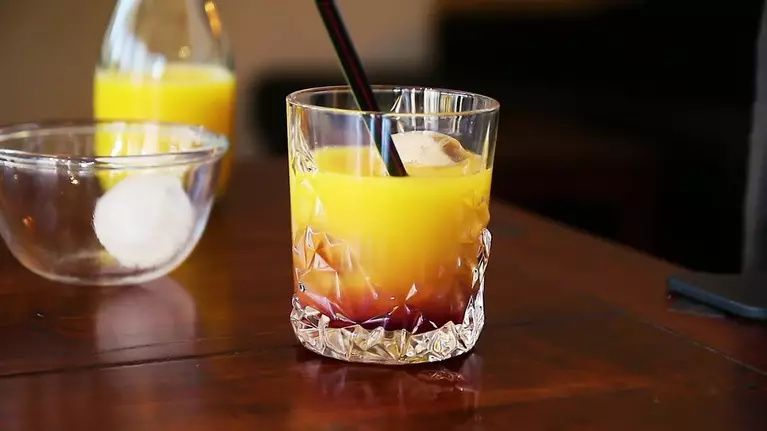 Photo of Whiskey Sunrise Recipe