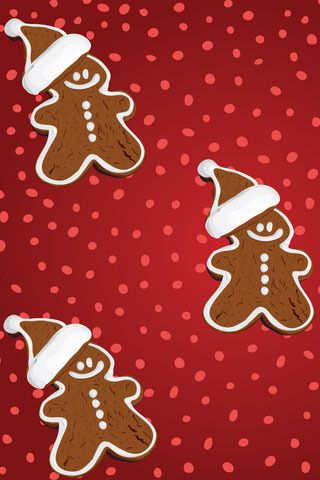 Download Free Gingerbread Christmas Iphone Wallpaper Mobile