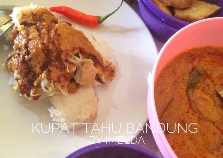 Resep Kupat Tahu Bandung Oleh Imelda Dapur Momji Resep Resep Masakan Masakan Resep