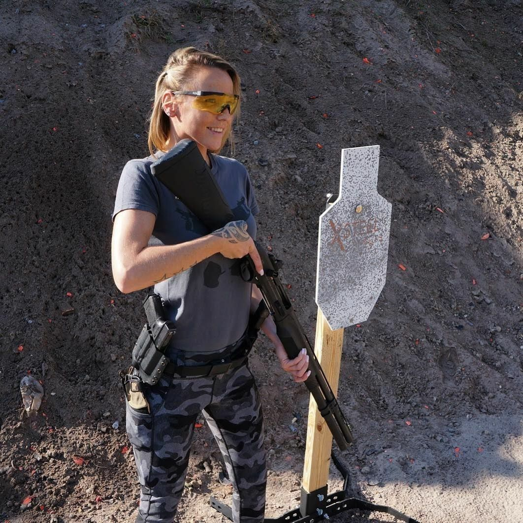90 Miles From Tyranny : Girls With Guns - Military Girl